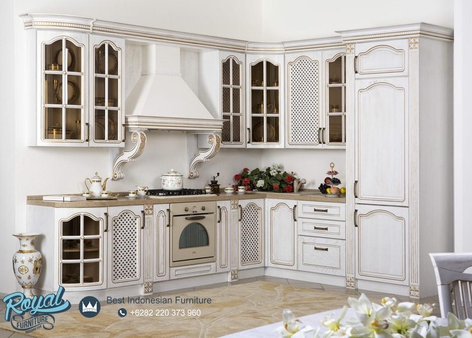 Kitchen Set Europe Design Model Terbaru Royal Furniture Jepara
