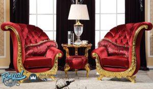 Set Sofa Tamu Mewah Silla Europe Klasik Model Terbaru