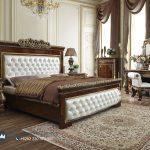 Desain Interior Furniture Set Kamar Tidur Kayu Jati Ukiran Jepara Clasique