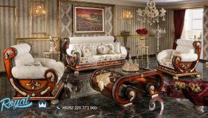 Kursi Sofa Ruang Tamu Luas Kayu Jati Luks Classic