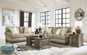 Sofa Tamu Mewah Minimalis Living Room Vintage