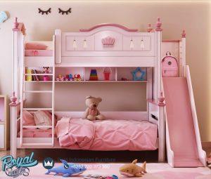 Desain Kamar Tidur Anak Perempuan Pink Queen